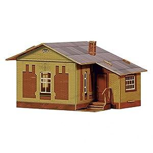 Keranova keranova2971: 87Escala 9x 7,5x 5,5cm Clever Papel Tren colección Edificios Modelo 3D Puzzle