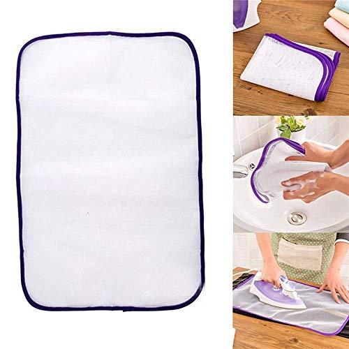 Maxgoods 5 pezzi panno da stiro protettivo, panno da stiro in tessuto, protezione proteggi indumenti delicati vestiti per casalinga madre, colore casuale