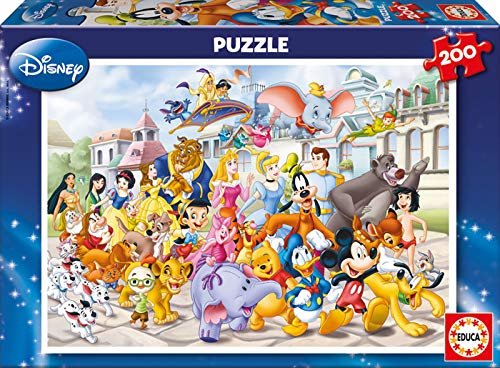 Educa Borrás - Puzzle Disney, 200 piezas (13289)