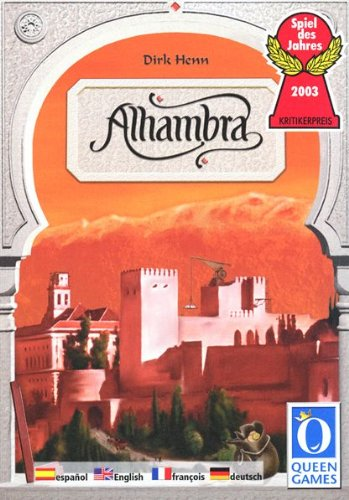 Queen Games Der Palast von Alhambra. Spiel des Jahres 2003. Für 2-6 Spieler ab 8 Jahren.