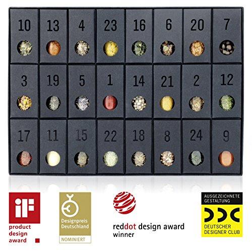 Gewürz-Adventskalender – Kalender mit 24 edlen Gewürzen und Rezepten - 3
