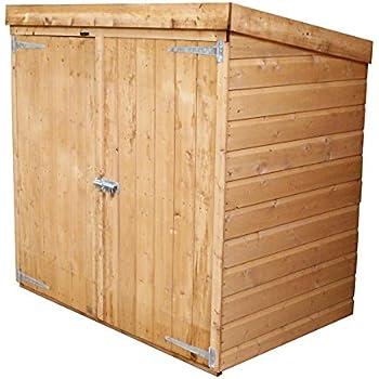 6ft x 3ft Wooden Shiplap Garden Shed: Amazon co uk: Garden