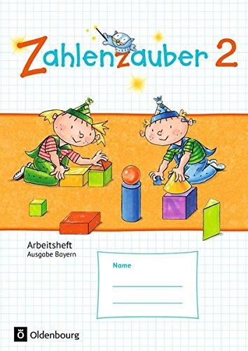 Zahlenzauber - Ausgabe Bayern (Neuausgabe): 2. Jahrgangsstufe - Arbeitsheft: Mit Lösungsheft: Alle Infos bei Amazon