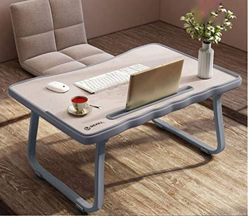 Schreibtisch Klapptisch Holzwerkstoffen Computertisch Tisch Bürotisch Arbeitstisch Esstisch Für Zuhause, Büro, Picknick, Garten,Grey (Executive-schreibtisch-telefon)