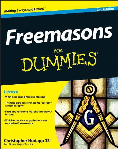 Freemasons For Dummies Freimaurer Für Dummies