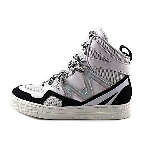 Marc By Marc Jacobs Ninja Hi-Top Synthétique Baskets Offwhite-Black