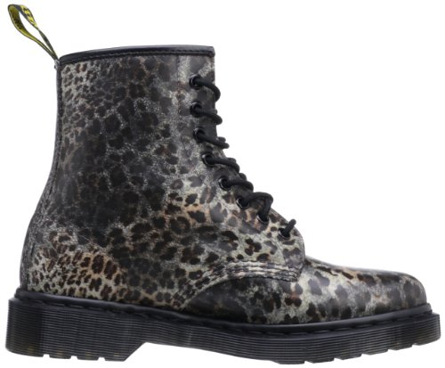Dr. Martens 1460 Darkened Baby Leopard, Chaussures bateau femme Multicolore - Mehrfarbig (leopard)