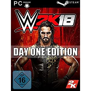 WWE 2K18 [PC Code – Steam] Boxed Version (PC DVD)