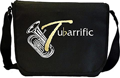 Tuba Tubariffic - Sheet Music Document Bag Sacoche de Musique MusicaliTee