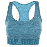 Disbest Damen Sport-BH, Yoga BH Starker Halt Fitness-Training Strech BH Bustier Push up Top Sports Bra mit Polster ohne Bügel (36/S, Sky Blue)