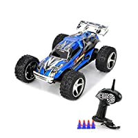 Particolarità: Flip Reverse, salto in alto, vibrazione posteriore, a 5 marce di controllo turbo  Il pacchetto include:  1 x Mini Racer  1 x Controller (batteria non includere, il controllo a distanza: 10-30m)   8 x Road Block   1 x USB caricabatteria...