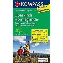 OBERKIRCH/HORNISGRINDE 877  1/30.000