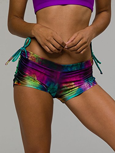 Onzie Side String Short Smoke and Mirrors-One Size