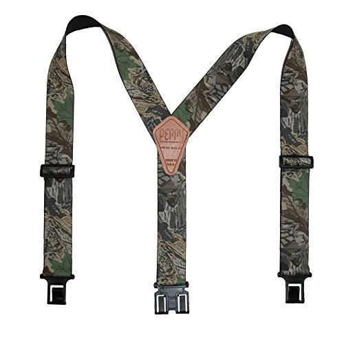 Perry Braces Men's Elastic Hook End Camouflage Braces