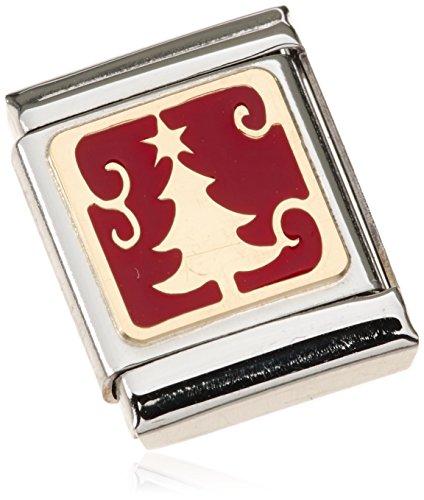 Nomination - 032244-10, Charm e ciondolo per bracciale  in acciaio inossidabile, donna