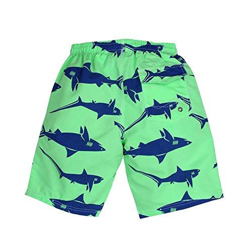 HYHAN Hommes d'été Sports de plein air Pantalons à séchage rapide randonnée Pantalon imperméable court de plage Fitness men