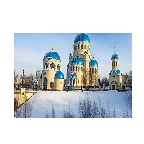 temple-snow-light-trees-winter-mouse-pad-gaming-mouse-pad-25cm-l-198cm-w