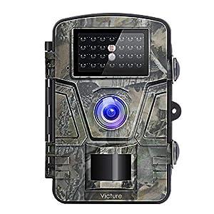 camara espia vision nocturna: Victure HC200 - Cámara de Caza Vigilancia 12MP 1080P IP66 Impermeable 24 IR Invi...