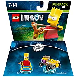Lego Dimensions Fun Pack - The Simpsons: Bart