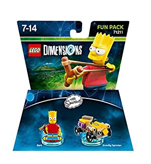 Figurine 'Lego Dimensions' - Bart Simpson - Les Simpson : Pack Aventure (B00ZWVGSS0) | Amazon Products