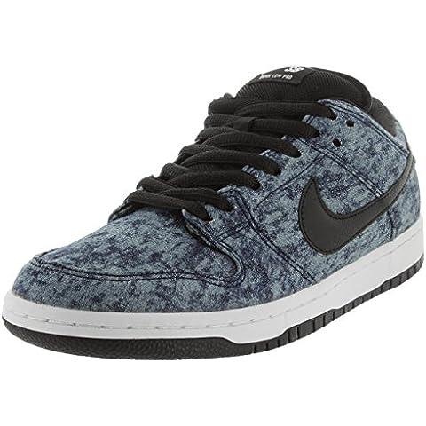 Nike Men's Dunk Low Premium SB Midnight Navy/Black/White Skate Shoe