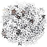 Craft Factory CF01/01501 | Silver Miniature Star Sequins | 5mm | approx 5g