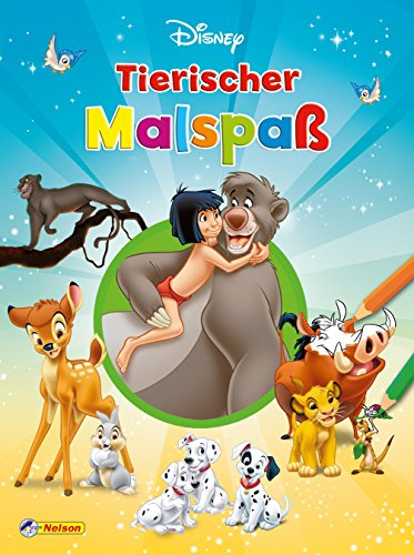 Disney Klassiker: Tierischer Malspaß (Disney Jungen Charaktere)