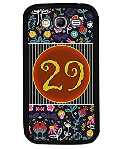 PrintVisa Metal Printed Numeric Designer Back Case Cover for Samsung Galaxy Grand Neo-D4780