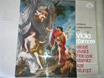 Virtuoso Compositions for Viola d'Amore
