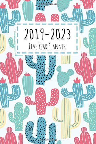 2019-2023 Five Year Planner: Monthly Schedule Organizer, Agenda Planner For The Next Five Years, Appointment Notebook, Monthly Planner, Action Day, Passion Goal Setting (2019-2023 Planner) por Donna A. Smith