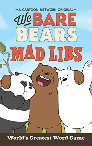 We Bare Bears Mad Libs (Favors Sleepover Party)