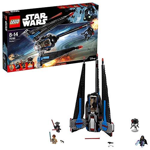 LEGO Star Wars 75185 - Tracker I Raumschiff Spielzeug (Legos Star Wars Spiele)