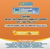#5: Combo of BITSAT+VIT+GGSIPU+BVP+Manipal+JAMIA 2017 Test Prep CD By 100Percentile