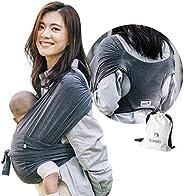 Konny Marsupio ultraleggero, imbracatura avvolgente per bambini senza problemi per bambini fino a 45 libbre co