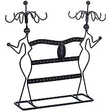 Songmics Expositor de joyas Colgador para pulseras pendientes Soporte de pie Diseño de Damas JDS78B