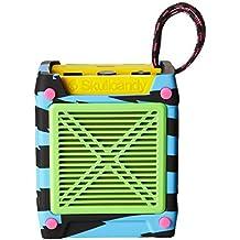 Skullcandy Shrapnel - Altavoz portátil (recargable, con Bluetooth, resistente a los golpes y a la humedad) multicolor