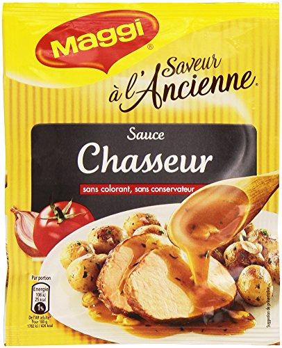 Maggi Saveur à l'ancienne - Sauce Chasseur - 24 g soit 200 ml de sauce - Lot de 7