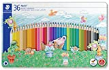 Staedtler Noris Club 145 SPM36 Colouring Pencils in Sport Design Tin - Assorted