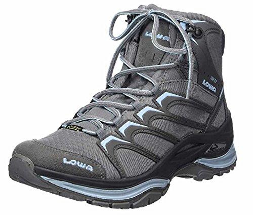 Lowa 320607, Chaussures de Randonnée Hautes Femme - Gris - Gris, 43 EU