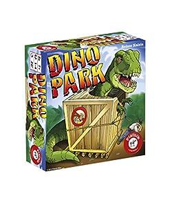 Piatnik Dino Park Niños Juego de Azar - Juego de Tablero (Juego de Azar, Niños, Niño/niña, 7 año(s), 18 Pieza(s), Reiner Knizia)