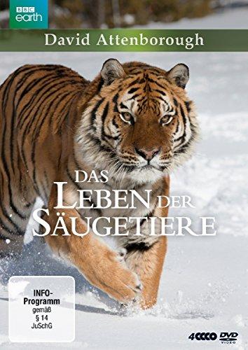 David Attenborough: Das Leben der Säugetiere - Die komplette Serie (4 DVDs)