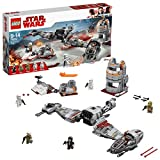 LEGO 75202 Star Wars Episode VIII Defense of Crait Playset with Resistance Ski Speeder Toy
