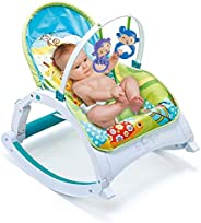 Webby Newborn to Toddler Musical Portable Baby Rocker