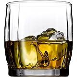 Pasabahce Dance Whisky Glass Set,370 ml,Set of 6