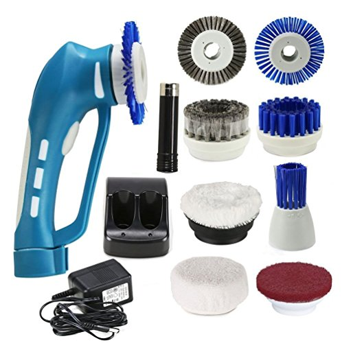 multi powered cleaning scrubber