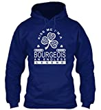 Bequemer Hoodie Damen / Herren / Unisex 2XL BOURGEOIS-AN ENDLESS LEGEND Marineblau