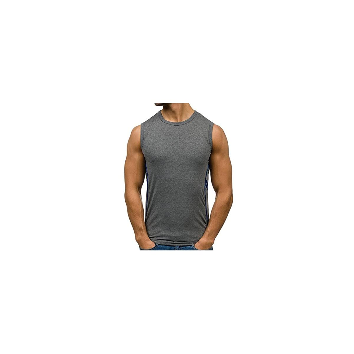 741b37564d7600 Sleeveless Gym T Shirts – EDGE Engineering and Consulting Limited