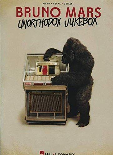 Bruno Mars: Unorthodox Jukebox: Songbook für Klavier, Gesang, Gitarre (Bruno Mars Sheet Music)