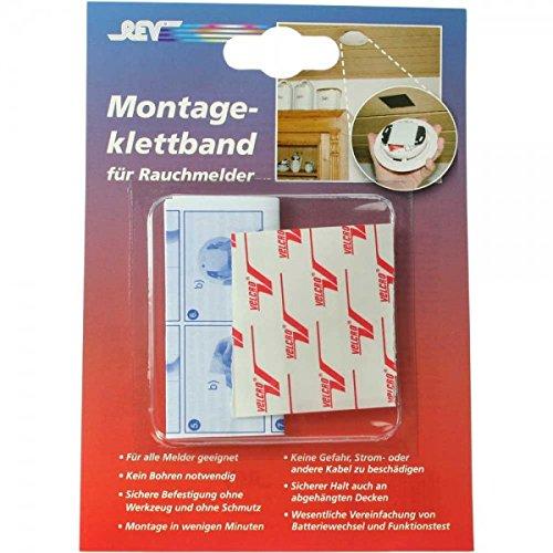 REV Ritter 0023495 Rauchmelder Montageklettband