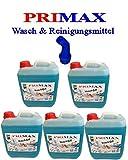5 x 5 Liter Primax Flüssigwaschmittel mit Arielladuft und Ausgießer